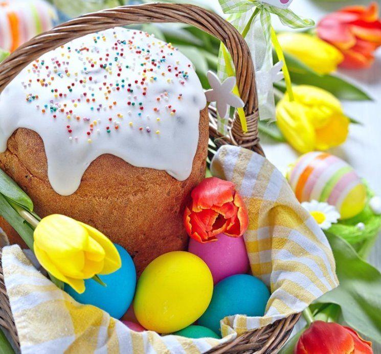 Вітаємо Вас із найсвітлішим весняним святом — Великоднем!